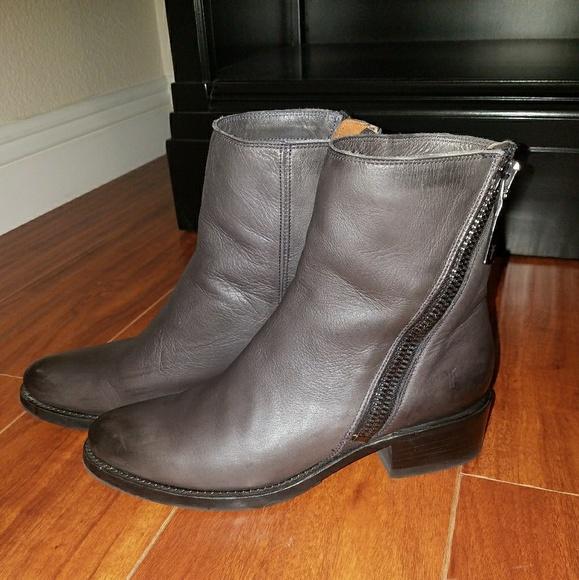 Frye Shoes   Frye Demi Zip Bootie